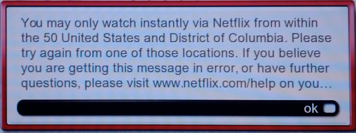 NetflixU SA Only Message