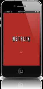 Netflix On Mobile Phone