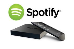 Spotify Amazon Fire TV Connect