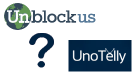 UnblockUs vs UnoTelly DNS Proxy