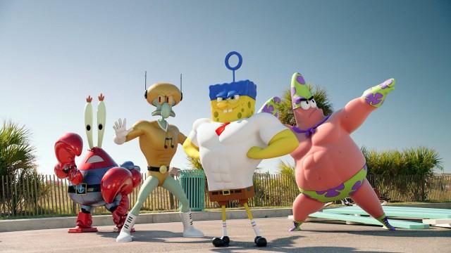 watch the spongebob movie sponge out of water online streams